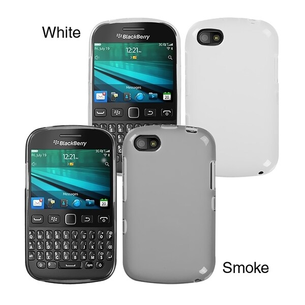 INSTEN Semi-Transparent Phone Case Cover for Blackberry 9720