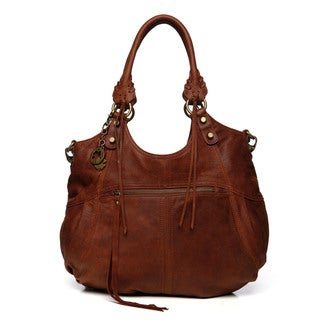 Lucky Brand Knots Landing Leather Tote Bag