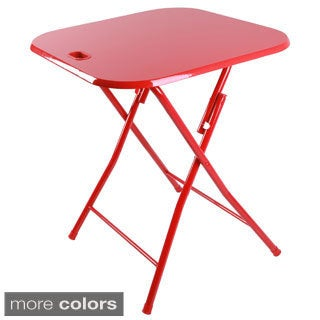 Metal Folding Table with Handle