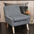 Christopher Knight Home Reese Tufted Fabric Retro Chair