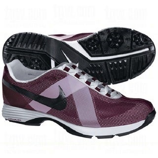 Nike Women's Lunar Summer Lite Bordeaux/ White/ Black Golf Shoes