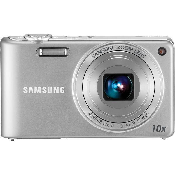 Samsung PL210 14.2 Megapixel Compact Camera - Silver
