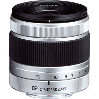 Pentax 02 Standard Zoom 5-15mm f/2.8-4.5 Lens for Q Mount Cameras (New Non Retail Packaging)