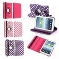 BasAcc 360 Rotating Swivel Stand PU Leather Case for Samsung� Tab 3 7.0 P3200