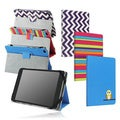 BasAcc PU Leather with Stand Pattern Design Cover Case for 7-inch Samsung Amazon Google HP Tablet