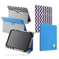 BasAcc PU Folio Leather Pattern Stand Cover Case for 10-inch Tablet