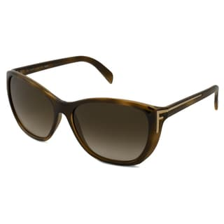 Fendi Women's FS5219 Rectangular Sunglasses