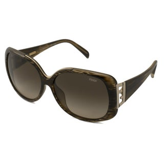 Fendi Women's FS5290 Rectangular Sunglasses