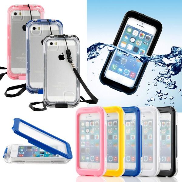 Gearonic Waterproof Shockproof Durable Case for Apple iPhone 5 5S 4 4S