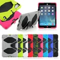 Gearonic PC and Silicone Case with Kickstand for Apple iPad Air 5th