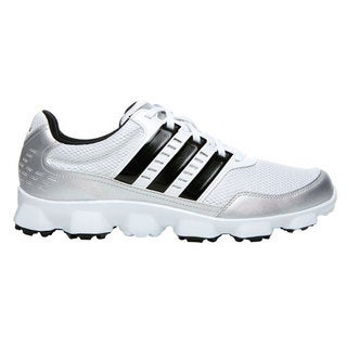Adidas Mens Crossflex Sport White/ Black Spikeless Golf Shoes