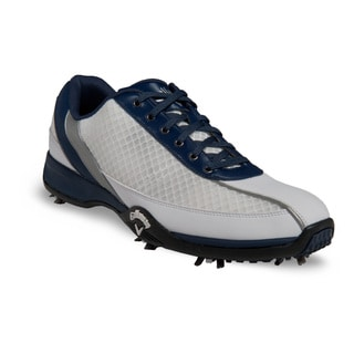 Callaway Mens Chev Aero White/ Blue Golf Shoes
