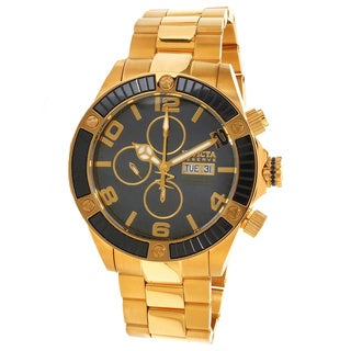 Invicta Men's Slightly Blemished 'Pro Diver' Gold-Tone Steel Watch