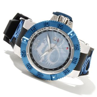 Invicta Men's Slightly Blemished 13911 'Noma III Lume Dragon' Blue Watch