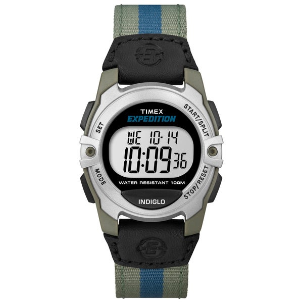 Timex T499589J Expedition' Mid-size Digital Nylon Strap Watch