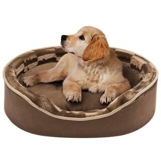 Friends Forever Oval Cuddler Pet Bed