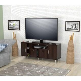 Inval Elegant 60-inch Espress-wenge Flat Panel TV Stand