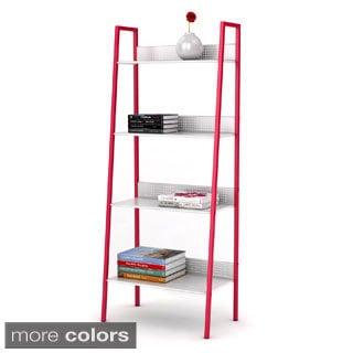 DarLiving 4-tier Metal Angled Ladder Shelving