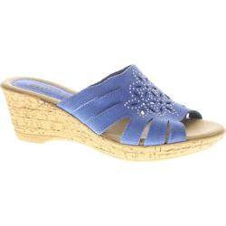 Women's Spring Step Shanta Blue Nubuck