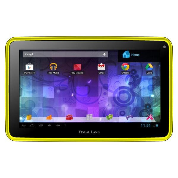 Visual Land Prestige Pro 7D with Pro Folio Bundle (Yellow)