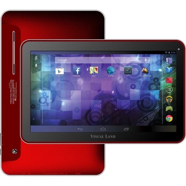 """Visual Land Prestige Pro 10D ME-110-D-16GB-RED 16 GB Tablet - 10.1"""" -"""