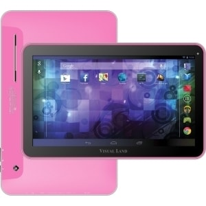 Visual Land Prestige Pro 10D ME-110-D-16GB-PNK 16 GB Tablet - 10.1