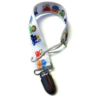 Superflykids 'Zoo Train' Pacifier Clip