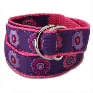 Superflykids Plum Crazy Kids D-ring Belt