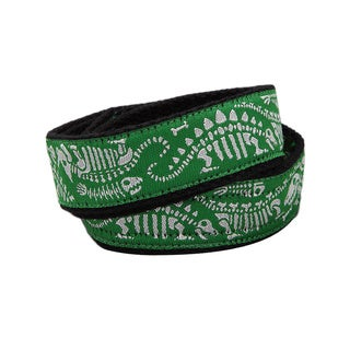 Superflykids 'Dino Riffic' Green Printed Hook-and-loop Belt