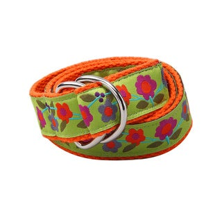 Superflykids 'Enchanted Garden' Floral Print D-ring Belt