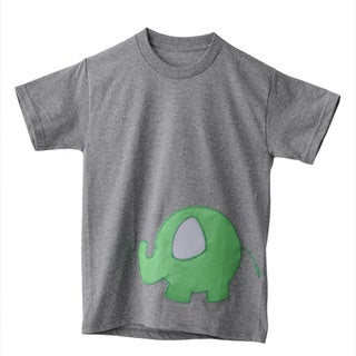 Superflykids Grey Plush Elephant T-shirt