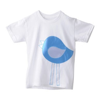 Superflykids Plush Blue Bird T-shirt