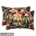 Outdoor Botanical Glow Oversized Rectangular Throw Pillow (Set of 2)