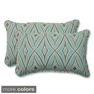 Outdoor Centro Rectangular Geometric Throw Pillow (Set of 2)