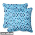 Outdoor Centro 18.5-inch Geometric Throw Pillow (Set of 2)