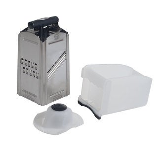 Combi Chef Stainless Steel 4-in-1 Food Slicer and Grater