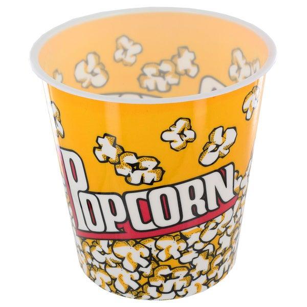 Small Plastic Popcorn Bucket
