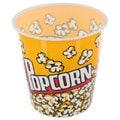 Small Plastic Popcorn Bucket