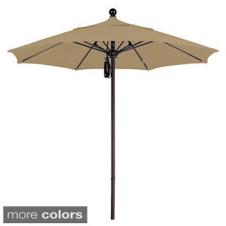Commercial 7.5-foot Aluminum Umbrella with Sunbrella Fabric