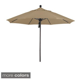 Commercial Grade 9.5-foot Aluminum Umbrella with Sunbrella Fabric