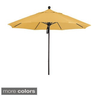 Commercial 9-foot Aluminum Umbrella with Sunbrella Fabric