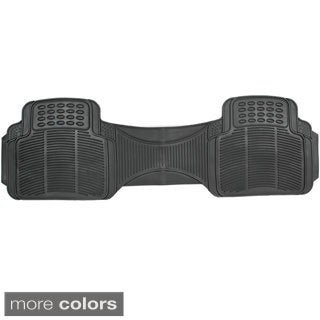 Ridged Style Rugged Rubber 1-piece Car Floor Mat