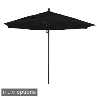 Commercial Quality 11-foot Aluminum Umbrella with Sunbrella Fabric