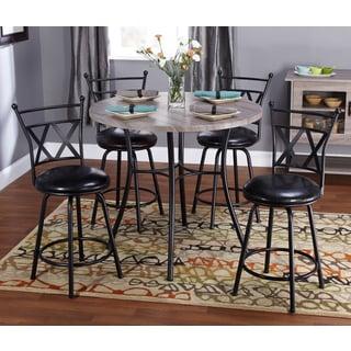 Simple Living 5-piece Seneca Adjustable Height Dining Set