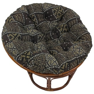 Blazing Needles Floral Collection 44-inch Tapestry Papasan Cushion