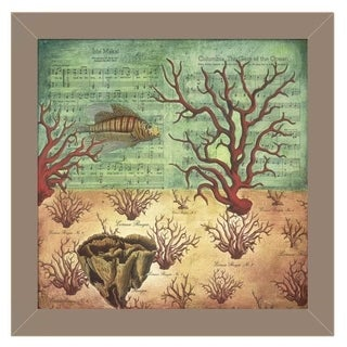Katrina Whitney 'Isle Maka I' Framed Wall Art