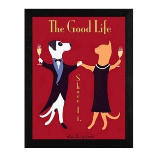 Ken Bailey 'The Good Life' Framed Wall Art