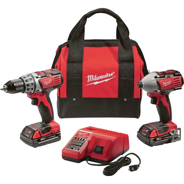 Milwaukee '2691-22' M18 Cordless Drill and Impact Kit