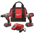 Milwaukee '2691-22' M18 Cordless Drill and Impact Kit