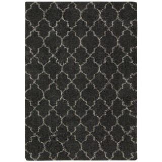 Nourison Amore Charcoal Rug (5'3 x 7'5)